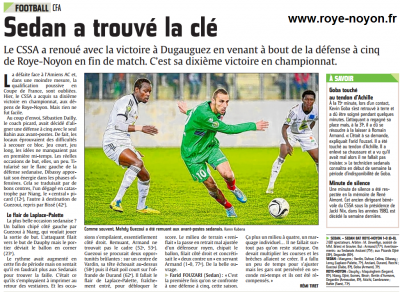 Article ardennais du 23 11 2014