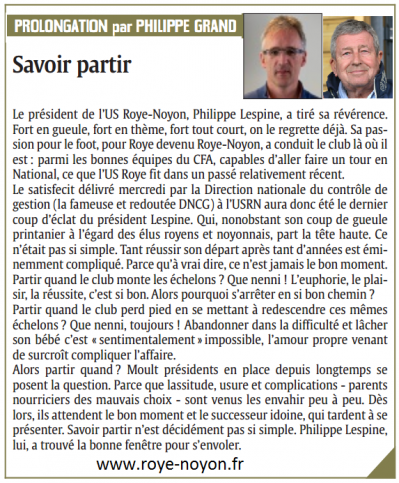 Article cp du 13 05 2014 lespine