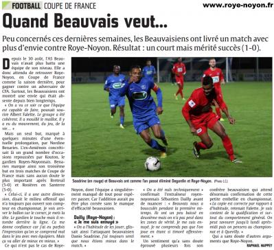 Article cp du 27 10 2014 coupe de france