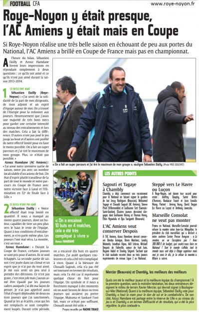 Article du 26 05 2014
