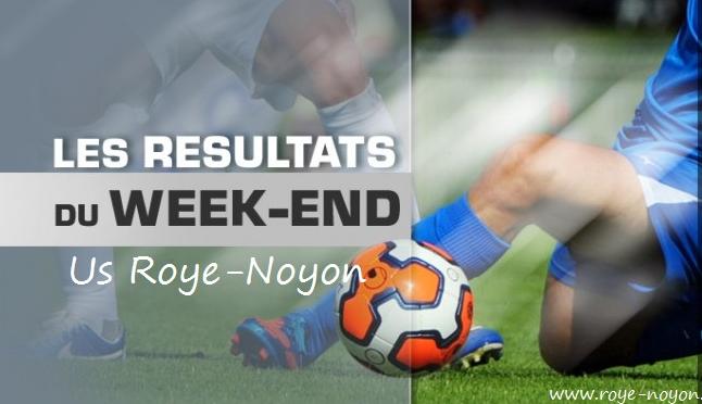 Résultats Roye-Noyon