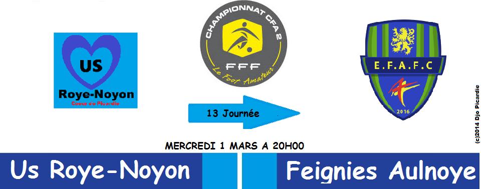 Roye-Noyon / Feignies Aulnoyes